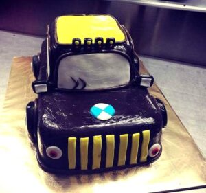 BMW Car Cake Durgapur